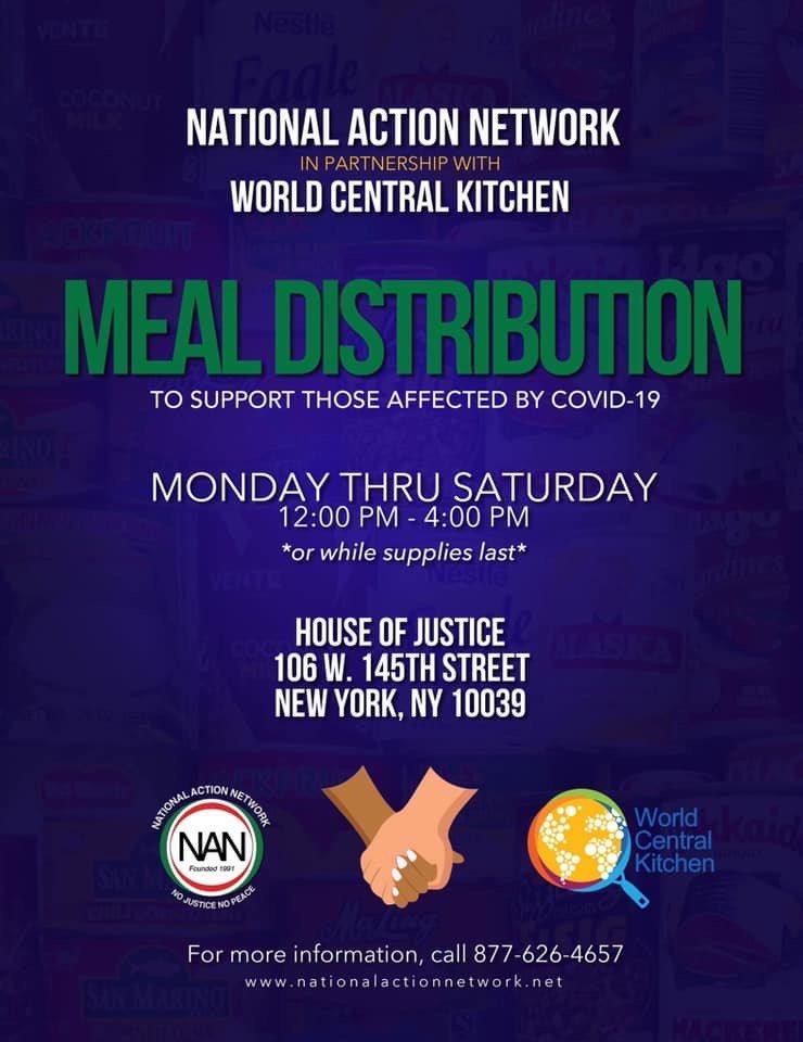 NAN & World Central Kitchen Partner | Flier Image